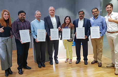 Hager Middle East awards employees for commitment