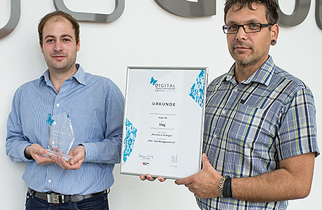 Hager Group gewinnt den Digital Transformation Award 2015