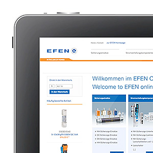 NEW: Order EFEN products 24/7 in the new online store