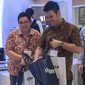 Hager Indonesia participe au premier salon professionnel Smart Home + City Indonesia